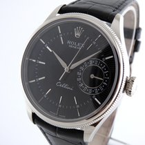 Rolex Cellini  Date  Whitegold     - Mint -