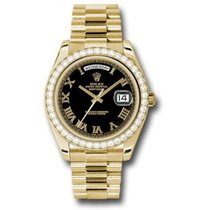 Rolex Day Date II President Yellow Gold - Diamond Bezel