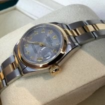 Rolex Oyster Perpetual Datejust Lady Grey Roman Dial 26 mm