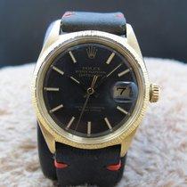 勞力士 (Rolex) DATEJUST 1607 18K YG with Original Charcoal Dial...