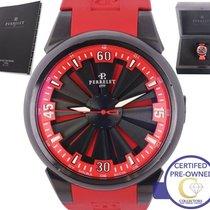 Perrelet Turbine Racing Stainless Steel Black Automatic Watch...