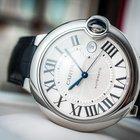 Cartier Ballon Blue Silver Dial Date