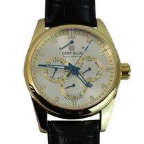 Deep Blue Fleet Admiral Watch Auto Calendar100m Wr Rose Gold...