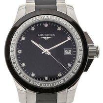 Longines Conquest 35 Black Diamonds