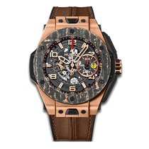 Hublot Big Bang Ferrari Carbon 45mm Automatic 18K Rose Gold...