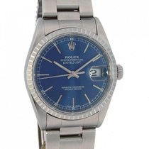 Rolex Datejust blue dial 16220
