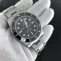 Rolex Submariner No Date 114060 Ceramic Box & Papers Complete