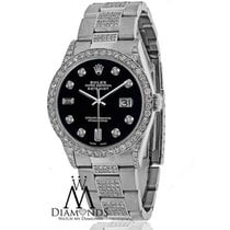 Rolex Diamond Rolex Datejust 16200 36mm Stainless Steel Oyster...