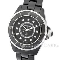 Chanel J12 Diamond Index Black Ceramic 33MM