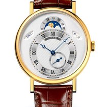 Breguet Brequet Classique 7337 18K Yellow Gold Men's Watch