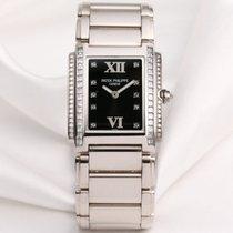 Patek Philippe Twenty-4 4910/20G Diamond Dial 18K White Gold