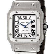 Cartier W20098D6 Santos Galbee XL 46MM Silver SQ Dial Men...