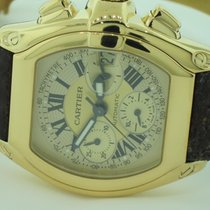 Cartier Roadster Chronograph XL 18K Solid Yellow Gold