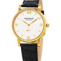 Montblanc 107116 Star Classique Mens 39mm Automatic in Yellow...