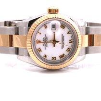 Rolex Ladies New Style 179173 Datejust - White Roman Dial -...