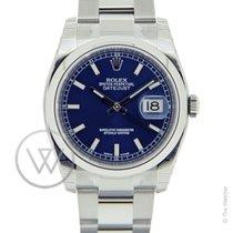 Rolex Datejust 36 Blue New-Full Set