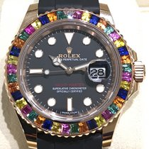 Rolex Yacht-Master 40mm Haribo Pinkgold Baguette like 116695 SATS