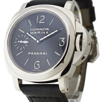 Panerai PAM 00111 Luminor Marina in Steel - PAM 111 Sandwich...