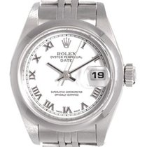Rolex Date Ladies Stainless Steel Watch 79160