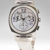 Charriol Alexandre MOP Chronograph with Diamonds