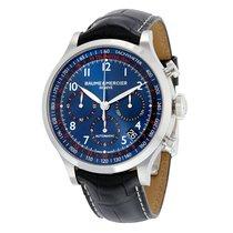 Baume & Mercier Men's MOA10065 Blue Dial Chronograph...