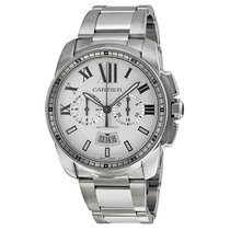 Cartier Men's W7100045 Calibre de Cartier Chronograph Watch