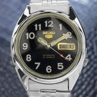 Seiko 5 Automatic 21 Jewels Vintage Japanese Mens Day Date...