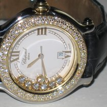 Chopard Happy Sport 18K Solid Gold Diamonds