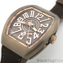 Franck Muller Vanguard Titanium and 18k Rose Gold