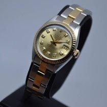 Rolex Datejust 18K Gold Steel Fluted Diamond with 1 Year Warranty