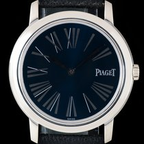 Piaget 18k White Gold Blue Dial Altiplano Gents 50920