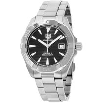 TAG Heuer Aquaracer Black Dial Stainless Steel Men's Watch...