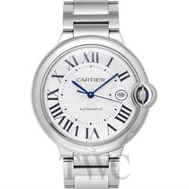 Cartier Ballon Bleu de Cartier Silver Steel 42mm - W69012Z4