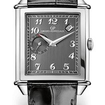 Girard Perregaux VINTAGE DATE SMALL SECONDS Steel Dial Grey...