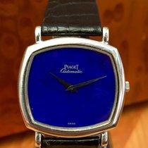Piaget — Lapis Lázuli dial. 18 kt white gold — Men — 1990 - 1999.
