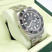 Rolex Submariner 116610 Date Steel Ceramic Bezel Watch Box...