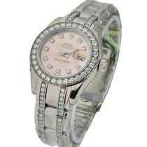 Rolex Unworn 80299_pink_dd Masterpiece in White Gold with...