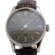 Azimuth Back In Time Gun Metal Grey Watch