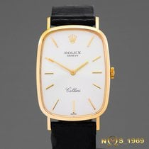Rolex Cellini 18K Gold 4113 Men's Rolex BOX 1990 Year