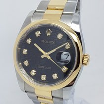 Ρολεξ (Rolex) DateJust Mens Gold & Steel Mens 36mm Factory...