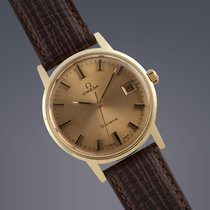 Omega Geneve gold plated manual watch
