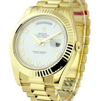 Rolex Unworn 218238 Mens President II Day Date in Yellow Gold...