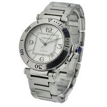 Cartier W3103155 Pasha Seatimer - Steel on Bracelet with...