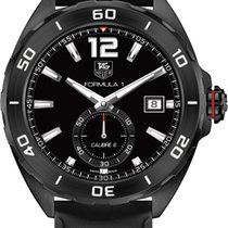 Ταγκ Χόιερ (TAG Heuer) Black Rubber Strap Waz2112.ft8023
