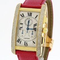 Cartier Tank Americaine 18K Gold Medium SERVICED by Cartier...