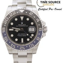 "Ρολεξ (Rolex) GMT Master II ""Batman"" Black & Blue..."