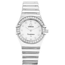 Omega 1465.71.00 Constellation My Choice in Steel with Diamond...