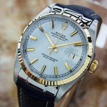 Rolex 1601 Oyster Perpetual Datejust 1965 Stainless Steel and...