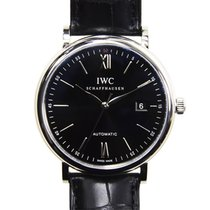 IWC Portofino Stainless Steel Black Automatic IW356502
