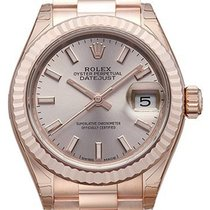 Rolex Lady-Datejust 28 18 kt Everose-Gold 279175 Pink Index